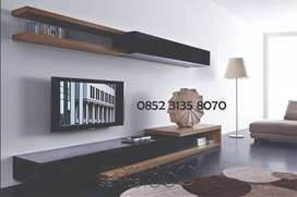 Backdrop TV Minimalis + Rell Laci Hubben Size 180 CM Interior Design