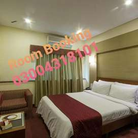 Rent for Rooms Hotel and guest House lahore.