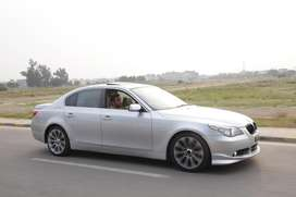 bmw 5 series silver colour 2 pc touch