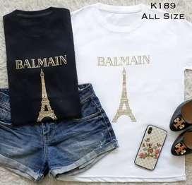 Ready Kaos Balmain Import BKk
