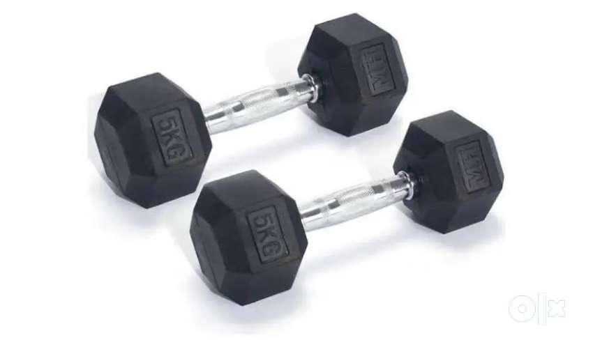 Dumbbells hexagon dumbbells weight plates gym plates 0