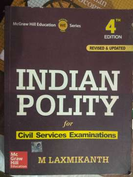 Indian polity by M laxmikant (upsc)
