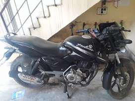 Bike is in good condition with valid insurance