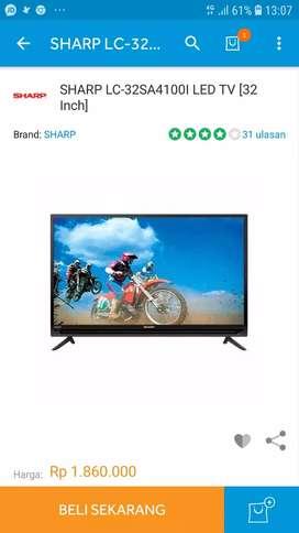 TV LED SHARP 32INCH TYPE LC-32SA4100i MURAH CUMA 1,8JUTA