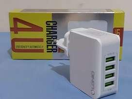 Charger LDNIO 4 Port 4.4A Auto Id A4403 Berkualitas tahan lama / Awet