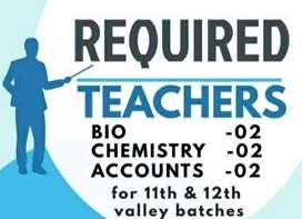 Chemistry faculty