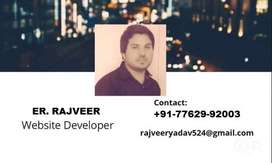 WEBSITE DEVELOPER only 1999/- Rs.