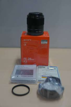 Jual Preloved Lensa Fix Sony E-Mount FE 28mm F2.0