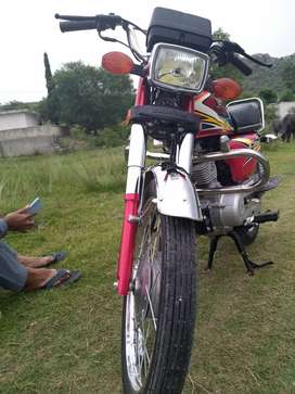Used Bike HONDA 125 IN NEW CONDITION FOR SALE 5000km used