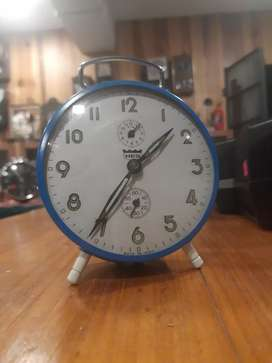 Vintage mechanical table clock