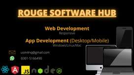 I can make a professional Website and Apps for both mobile and desktop