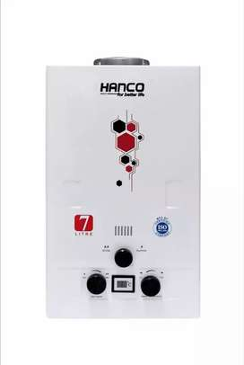 HENCO IMPORTED GAS WATER HEATER 7 LITER