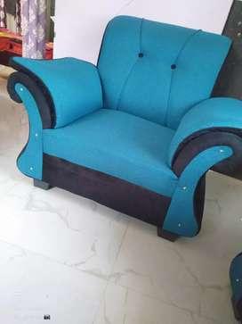 Sofa single sitter fancy n standard look