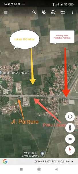 Tanah Penyangga Pelabuhan Patimban Subang - Jawa Barat