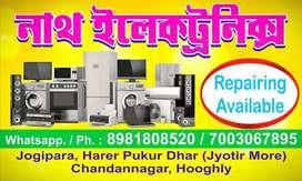 Ac, fridge, washing machine,  microwave technicians