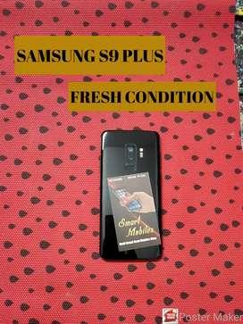 SAMSUNG S9 PLUS MOBILE CHARGER ONLY FRESH CONDITION