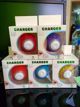 Charger Lampu Tidur 2USB LED