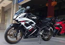 Kawasaki Ninja KRR 150 2015 km 5rb! Mulus! Cash/kredit