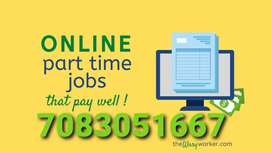 Easy typing work home based job