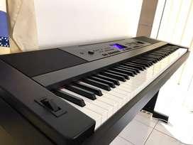 Yamaha DGX660 DGX-660 DGX 660 Piano Digital Piano Black Hitam
