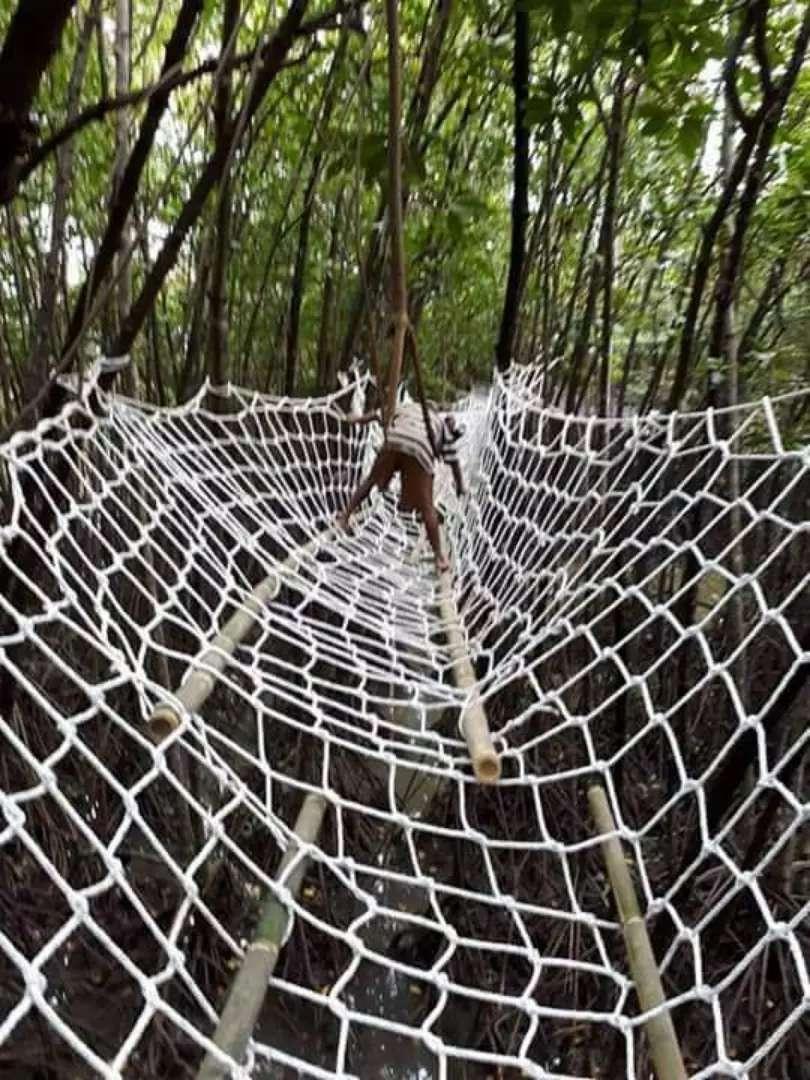 Jaring panjat playground 0