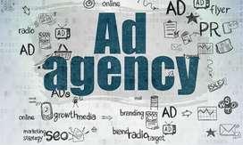 Ad agency flex printing