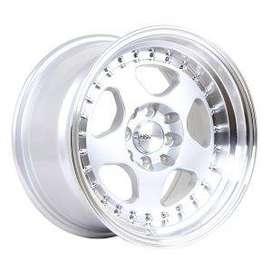 jual /credit velg HSR-Burn-H1569-Ring-15x85-H8x100-114