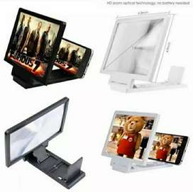3D Mobile Screen Enlarge Screen Magnifier Mobile Stand High Quality.