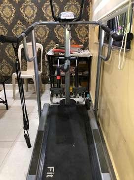 Fitnext manual treadmill