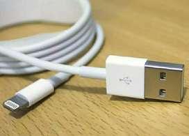 Kabel Data Original Lightining iPhone 5c Garansi 1 Bulan..