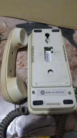 Pesawat telefon bekas, merk GE dan Sahitel