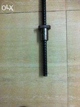Ball screw 3ft worm ball nut excellent quality