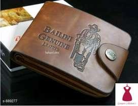 Men's Trendy Pu Leather Wallets FREE COD