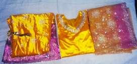 Yellow Lehenga