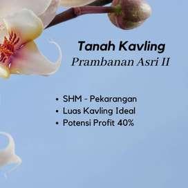 Ambil Sekarang ! 12 x Bayar 0% Tanah Prambanan Asri II dekat Candi Pra