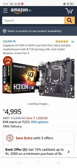 low budget high component for your gaming PC built.