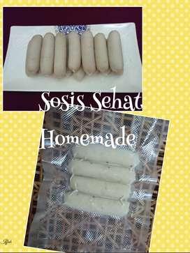 Sosis Sehat Ikan Tenggiri & Ayam Organik Homemade