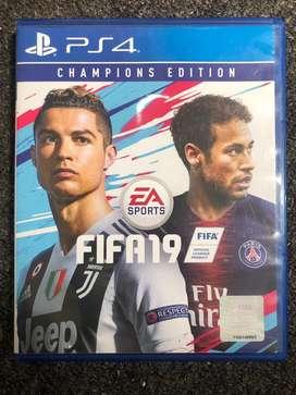 Blue Disc FIFA 19 PS4