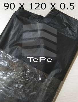 Trash bag / trashbag / kantong plastik sampah hitam besar 90x120