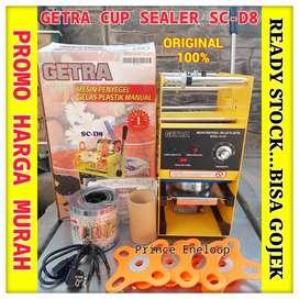 GETRA SC-D8 Manual Cup Sealer Penyegel Gelas Plastik Garansi 1 Tahun