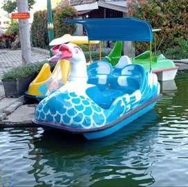 Jual sepeda air bebek, sepeda air fiberglass, sepeda air bebek angsa