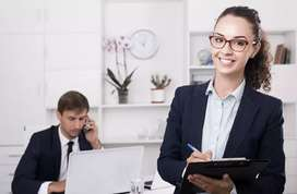 Urgent requirment for a personal assistent female/ male