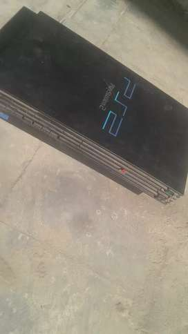 PS2 game player.