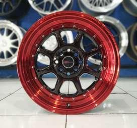 Velg Mobil HSR Ring 16 Untuk Lancer Fiesta Aveo Jazz Yaris Mazda2 Rio