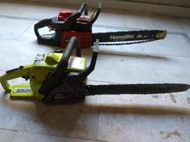 Poulan chainsaw 2550 Super clean,2375 and 4018 homelite timberman 45cc