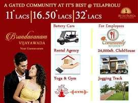 విజయవాడ గన్నవరంలో 10% డౌన్ పేమెంట్ తో 2 BHK ఫ్లాట్ @32* లక్షలు మాత్రమే