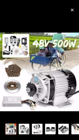 48volt 500watt BLDC BM1418ZXF Ebike Conversion Kit