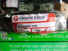 Kabel Mic stereo merk Federal 100m