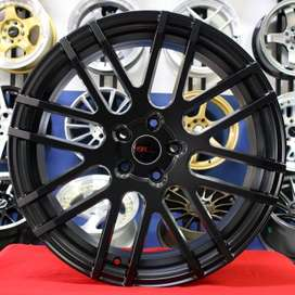 velg model racing NATH HSR Ring.20 Lebar.8,5 PCD.5X114,3 ET.42 SMb