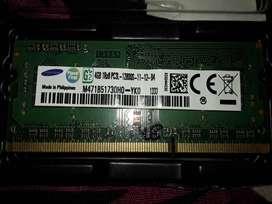 Samsung 4gb ram ddr3 pc3 1600mhz
